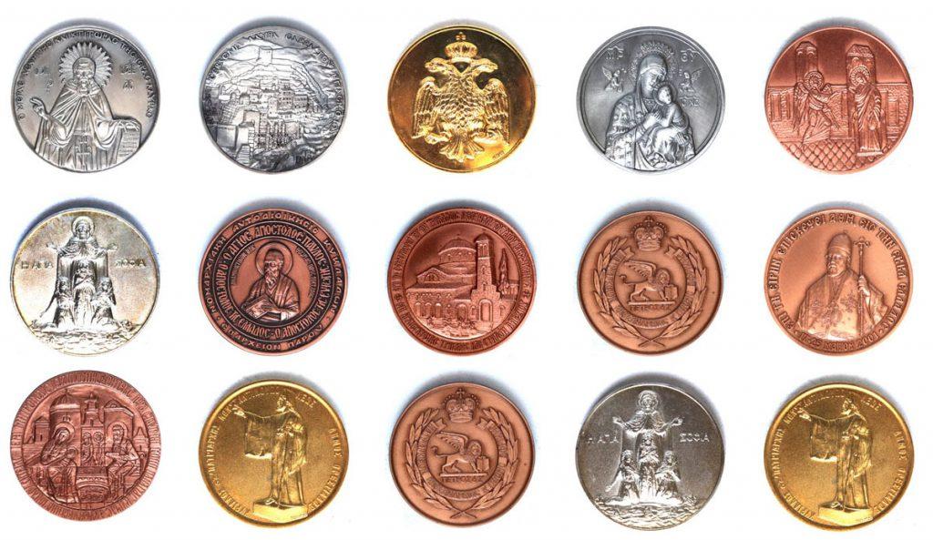 εκκλησία μετάλλια